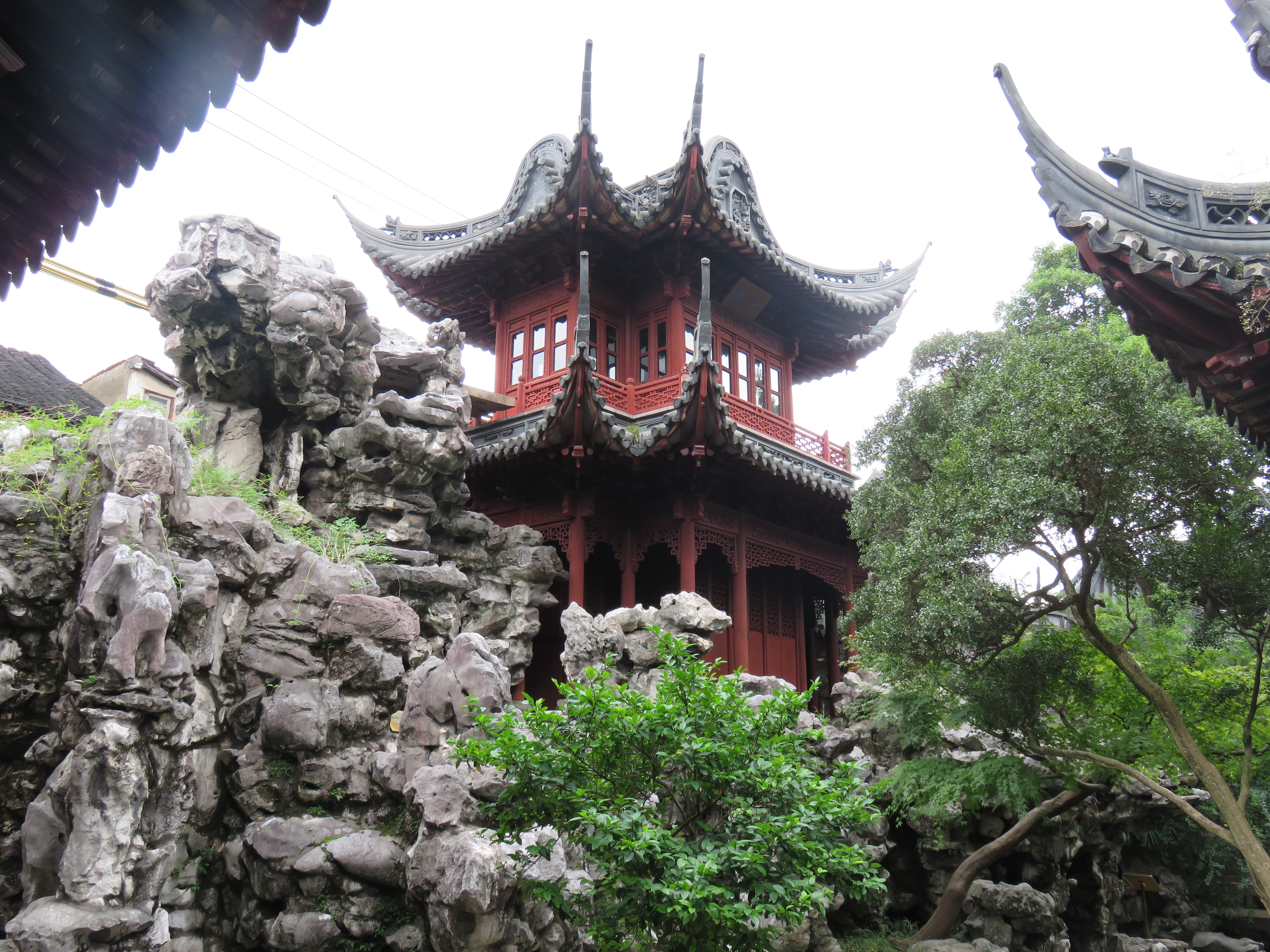 parc shanghai yuyuan voyagespia - Chine