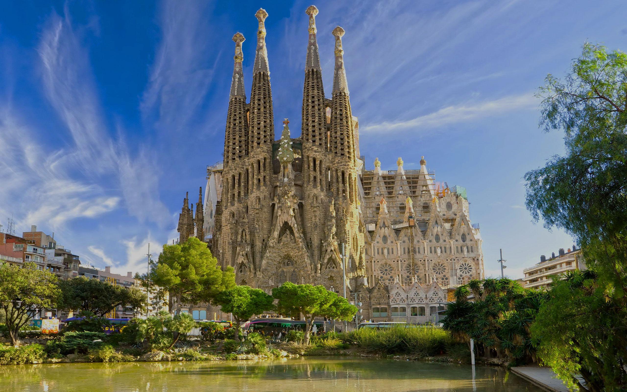 spain barcelona sagrada familia - Europe
