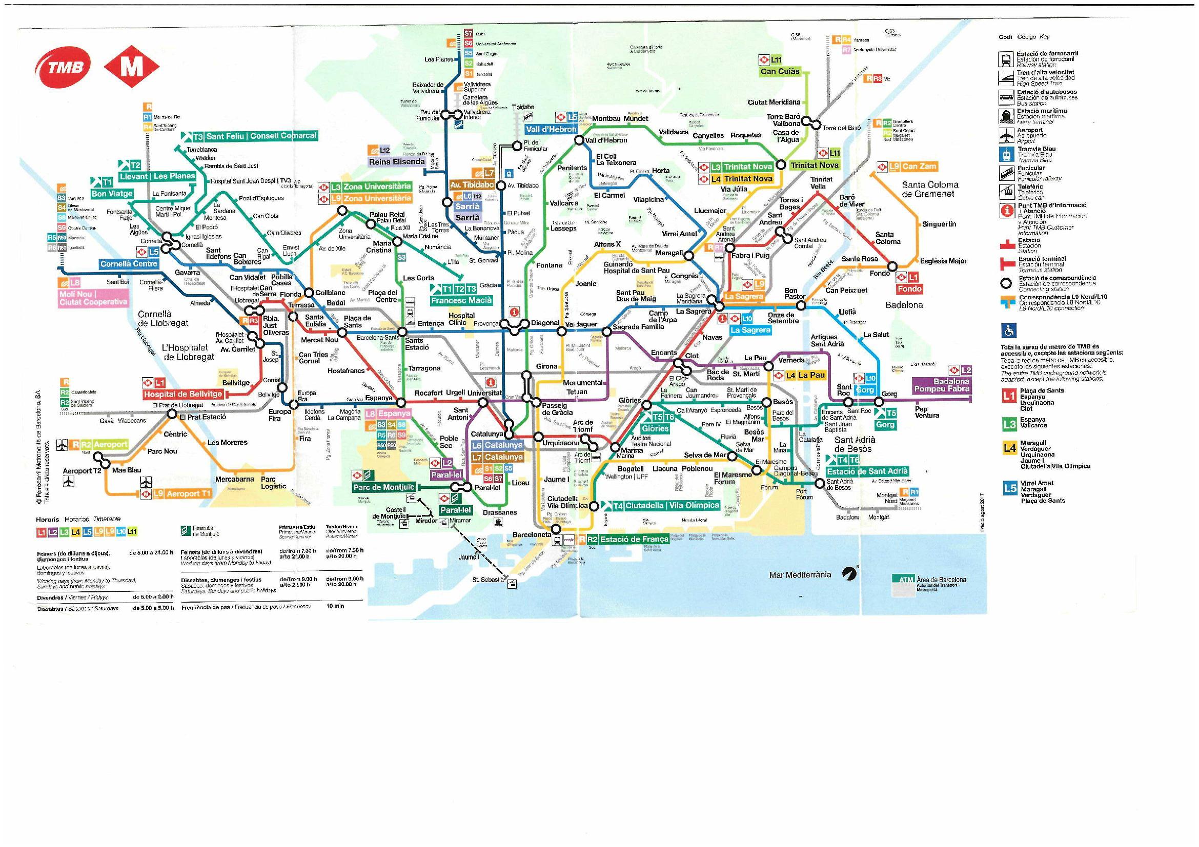 metro Barcelone - Barcelone