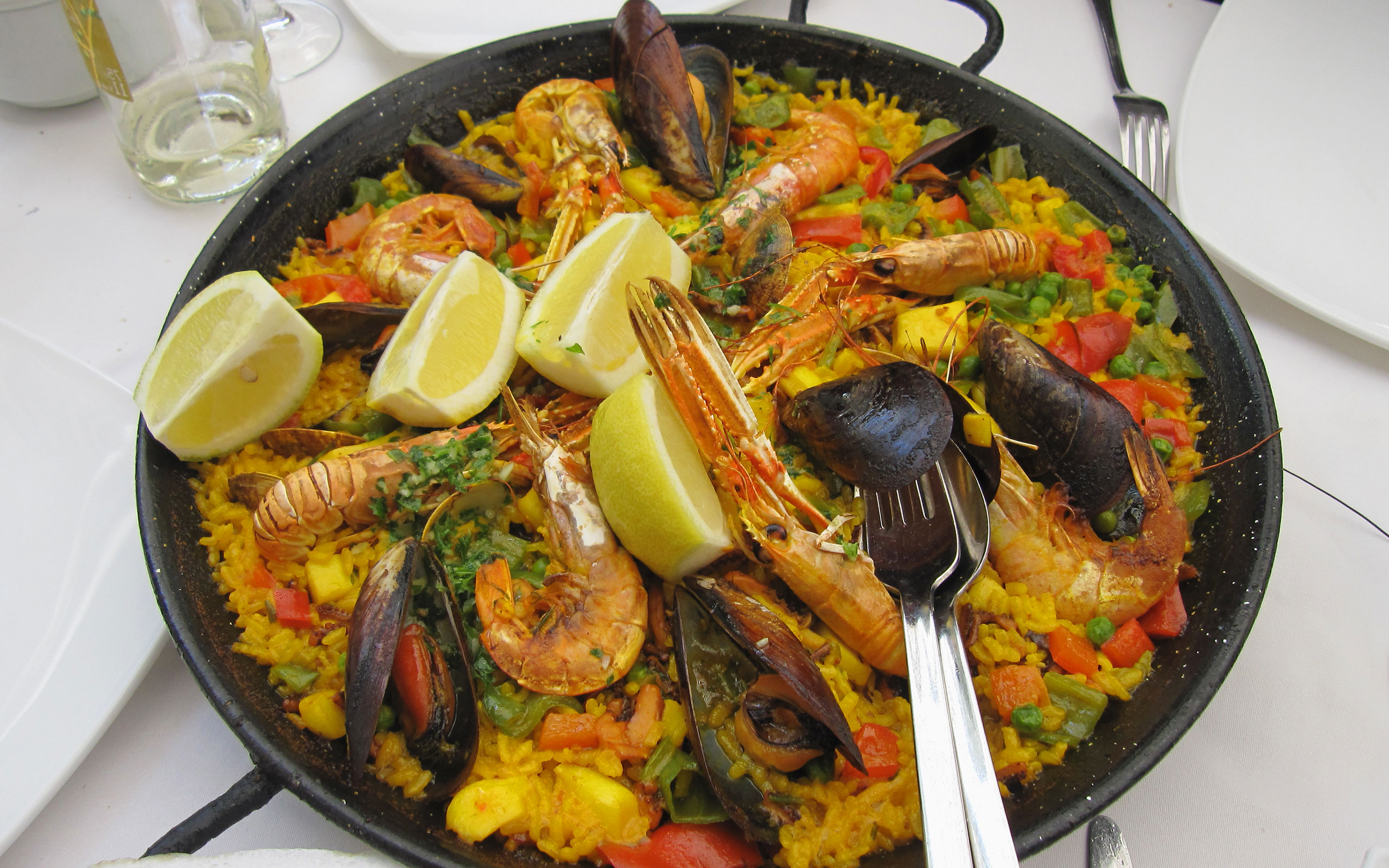 spain barcelona local food paella - Recettes