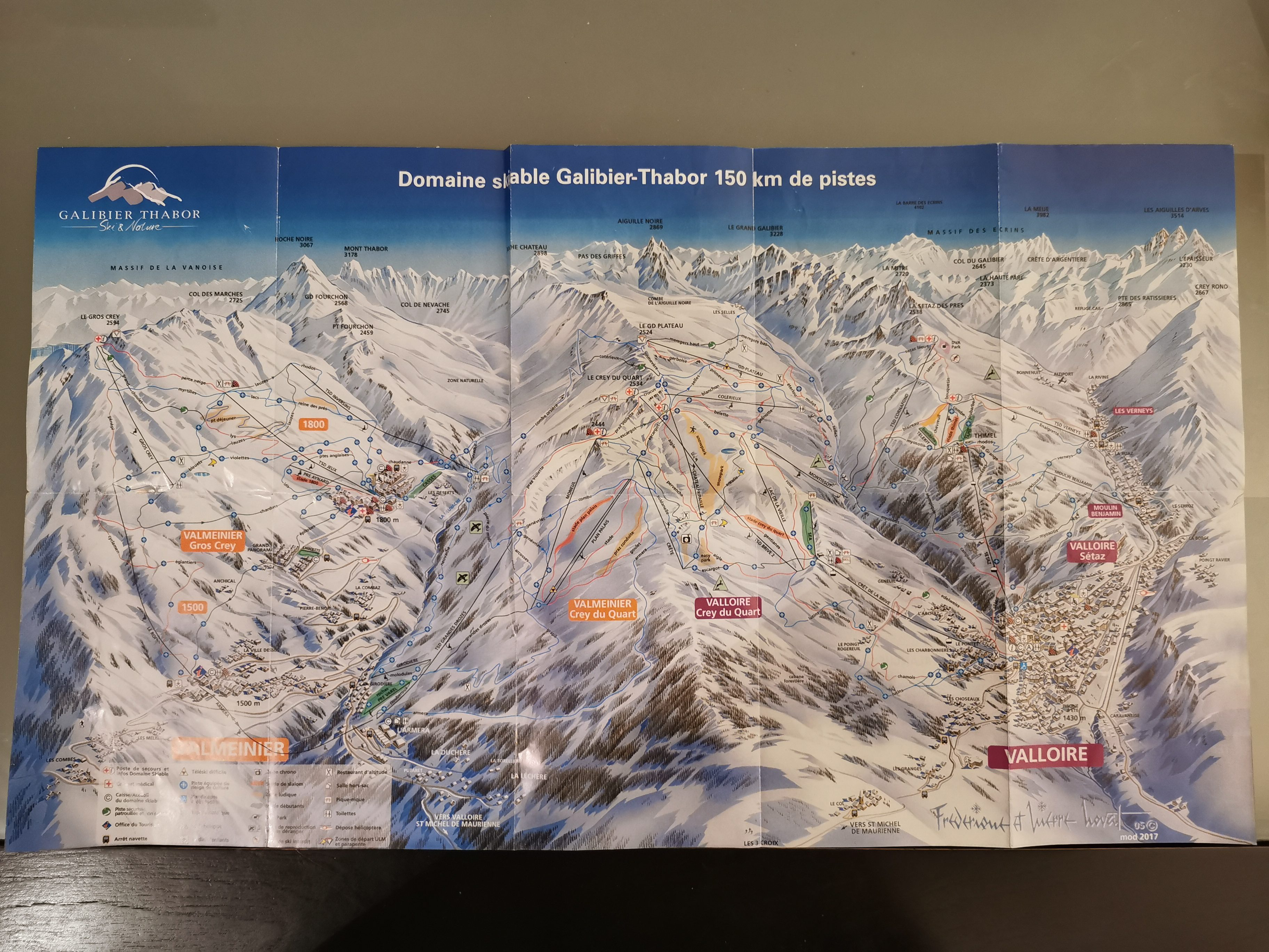 carte des pistes de ski à valmeinier voyagespia e1562029999925 - Valmeinier