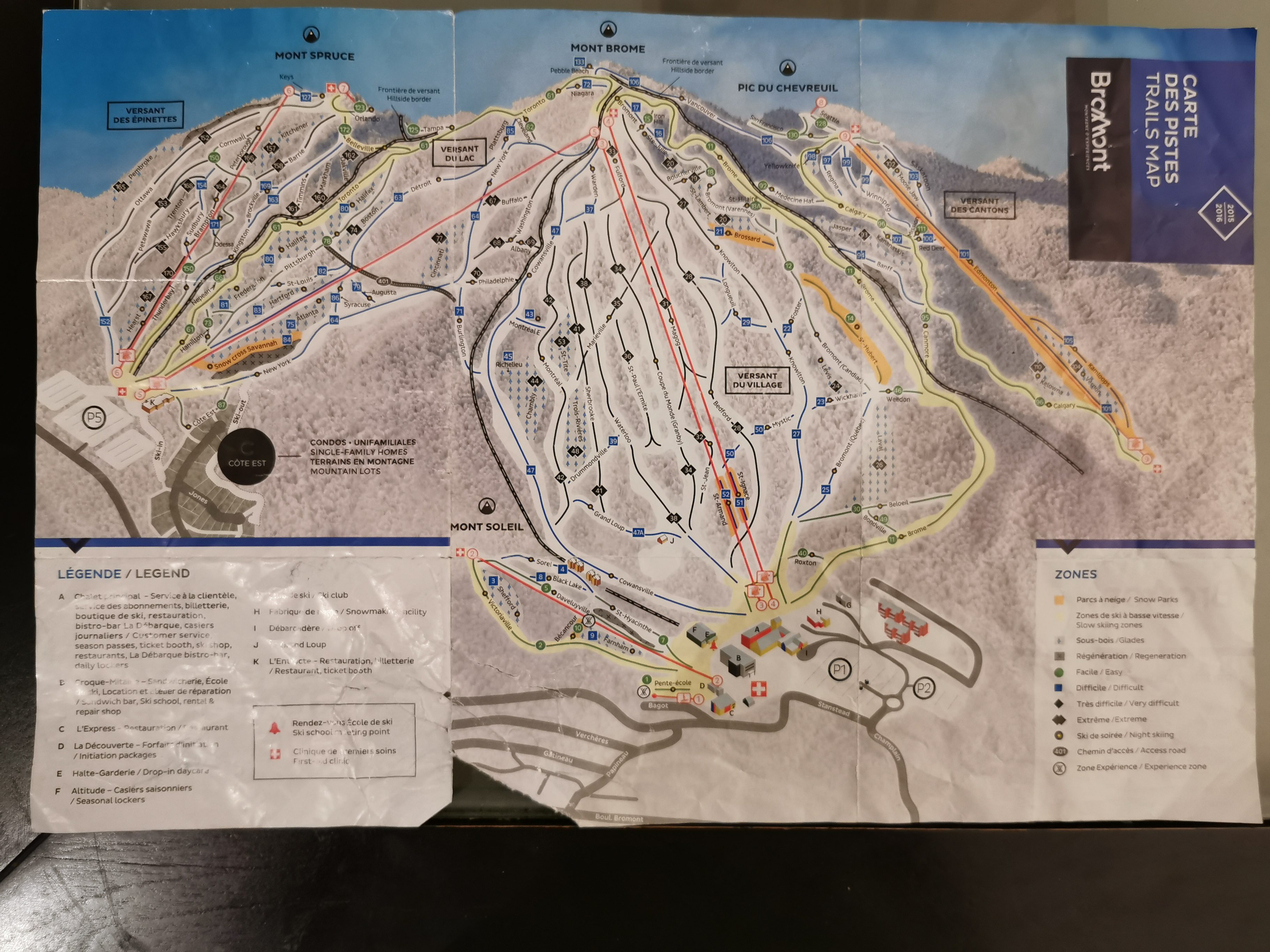 plan de pistes de ski à valmeinier voyagespia - Québec