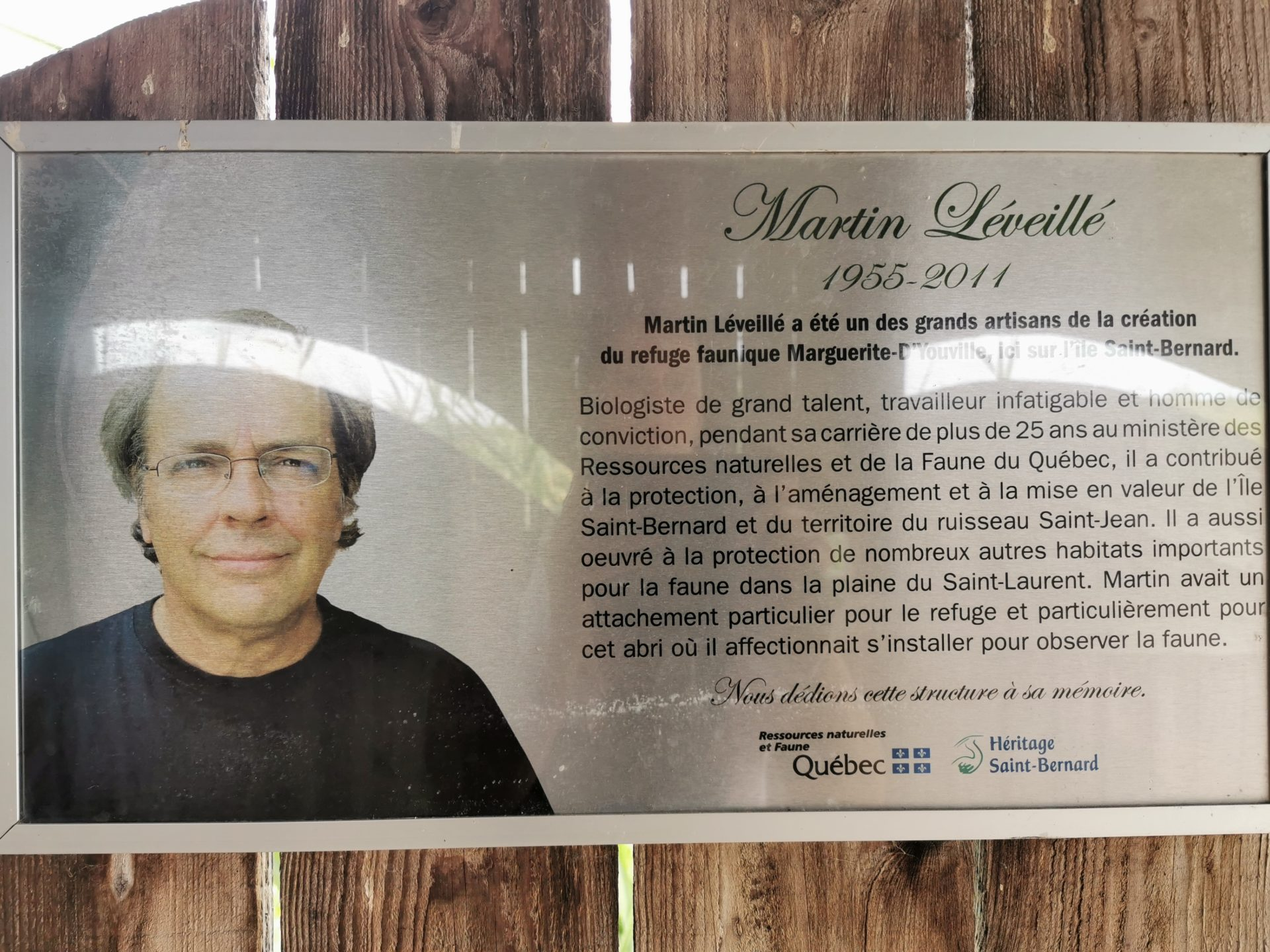 Martin Léveillé Refuge Marguerite DYouville VoyagesPIA - Châteauguay