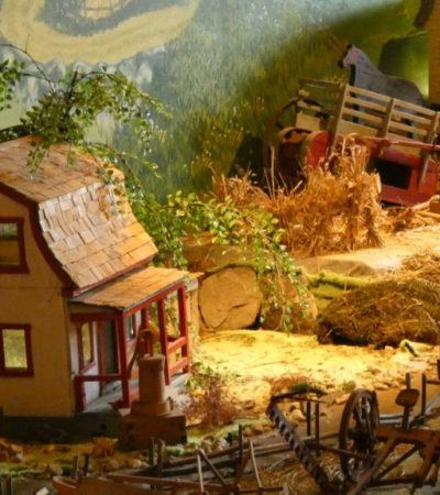 Expo maquette de la ferme du Parc Oméga VoyagesPIA 1024x576 400x450 - Châteauguay