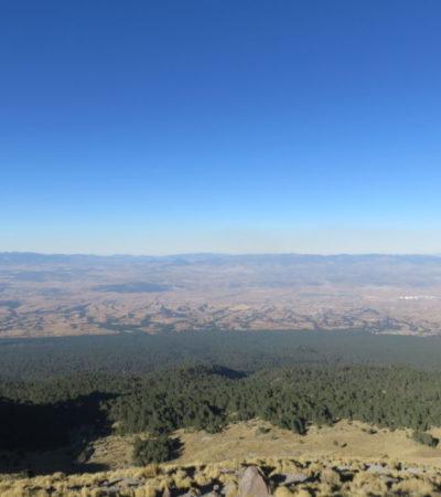 Paysage La Malinche de Tlaxcala du Mexique VoyagesPIA 1024x768 400x450 - La Malinche