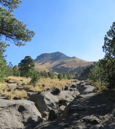 Volcan et cratère La Malinche au Mexique VoyagesPIA 1024x768 400x450 - La Malinche
