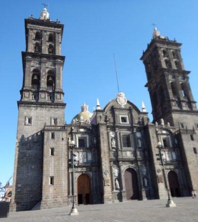 Cathédrale Puebla Mexique VoyagesPIA 1024x768 400x450 - Puebla