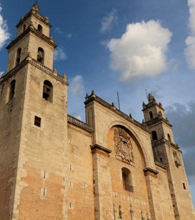 Cathédrale du Yucatan à Mérida au Mexique VoyagesPIA 400x450 - Mérida