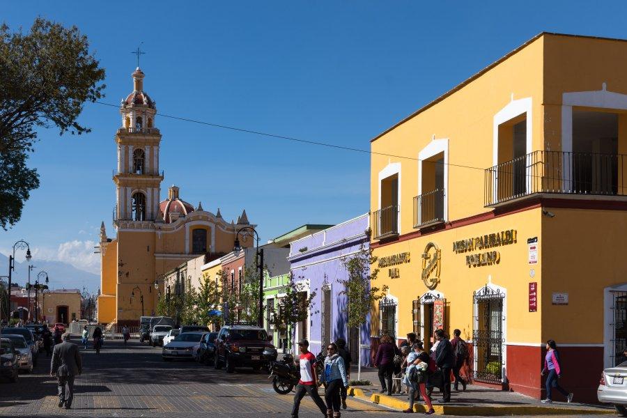Eglise Puebla au Mexique VoyagesPIA - Mexique