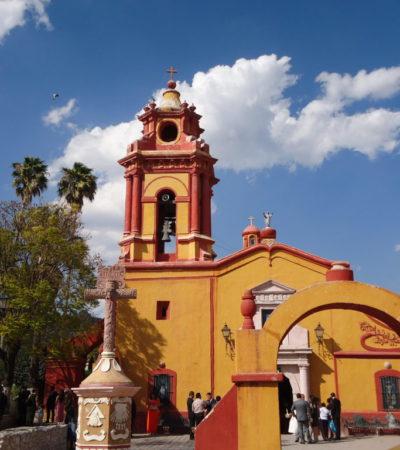 Eglise San Sébatian Martir à Querétaro au Mexique VoyagesPIA 1024x768 400x450 - Santiago de Querétaro