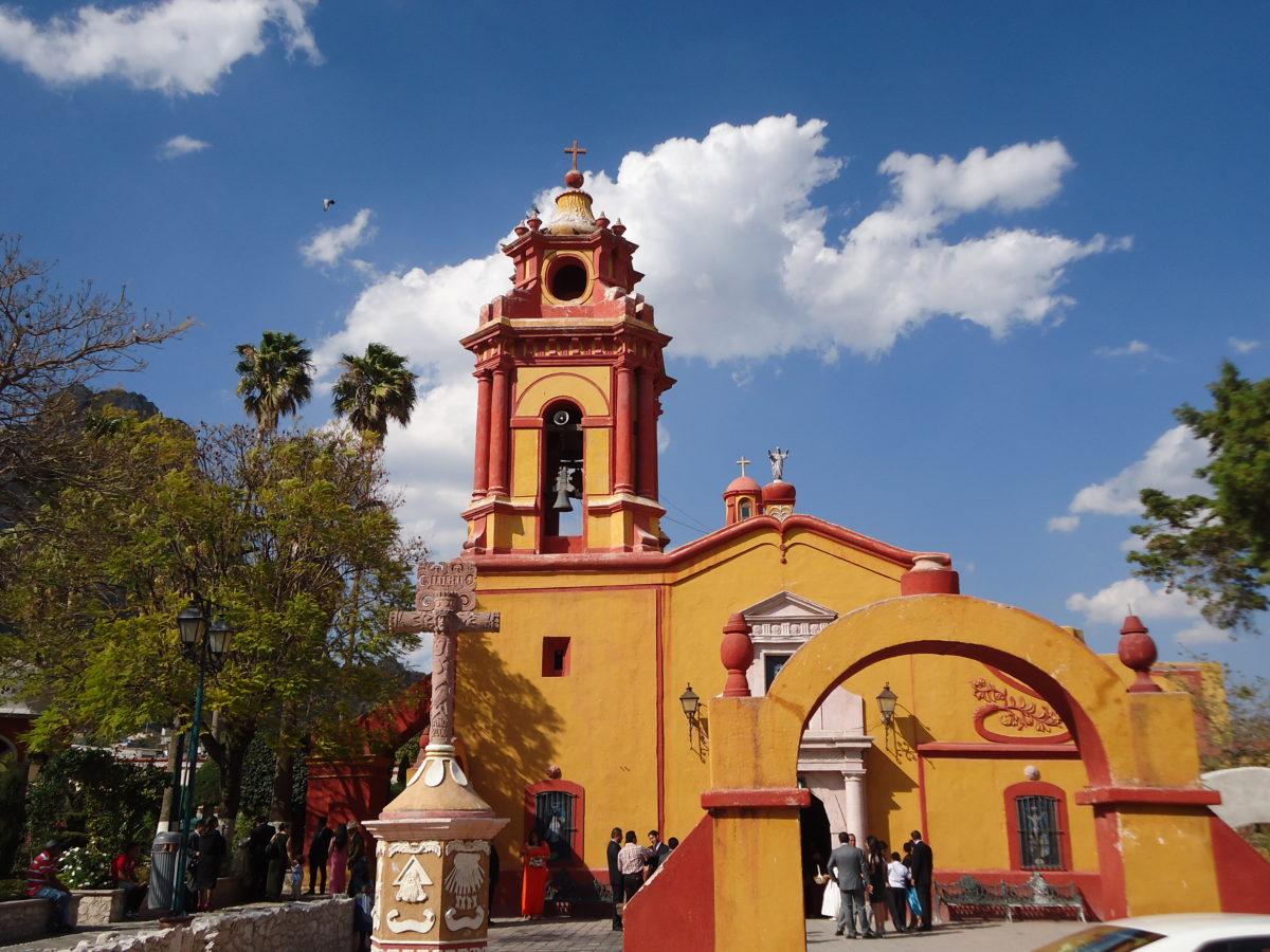 Eglise San Sébatian Martir à Querétaro au Mexique VoyagesPIA - Mexique