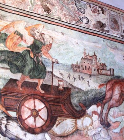 Fresque ancienne Puebla au Mexique VoyagesPIA 400x450 - Puebla