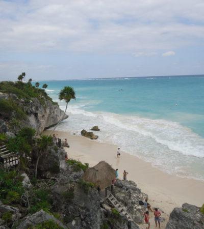 Plage de Tulum au Mexique VoyagesPIA 1024x768 400x450 - Cancun