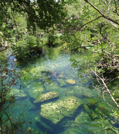 Rivière Chikin Ha au Mexique VoyagesPIA 768x1024 400x450 - Cancun