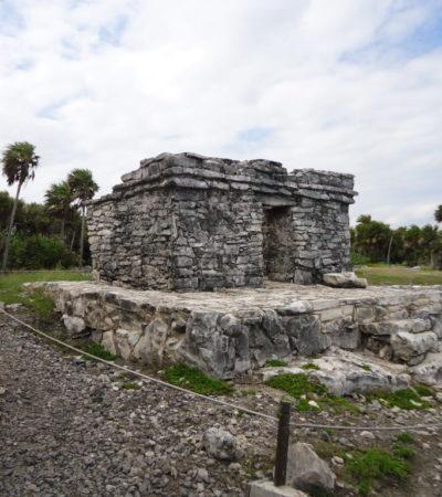 Ruine cité Maya de Tulum au Mexique VoyagesPIA 1024x768 400x450 - Cancun
