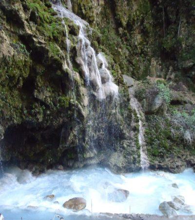 Baignade cascade Tolantongo Mexique VoyagesPIA 1024x768 400x450 - Tolantongo