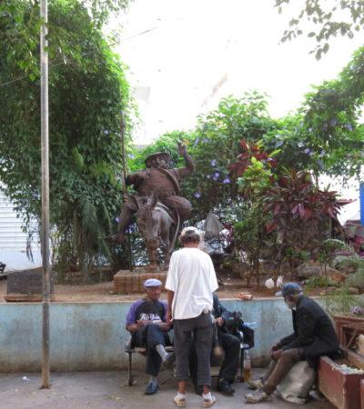 Statue El Sancho de la Havane VoyagesPIA 1024x768 400x450 - Havane